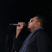 London, UK, 21th August 2016 : Alain Ramanisum preforms live at the Mauritian Open Air Festival 2016 at Gunnersbury Park in London,UK. © See Li/PictureCapital