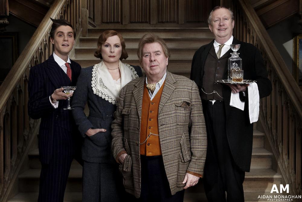 'Blandings' Cast 2012 BBC 1