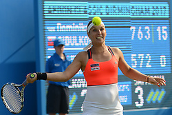 June 20, 2017 - Birmingham, England - DOMINIKA CIBULKOVA in her first round match v.L. Safarova in the Aegon Classic Birmingham tennis tournament. (Credit Image: © Christopher Levy via ZUMA Wire)