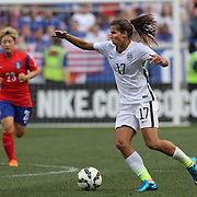Tobin Heath, U.S. Women's National Team, in action during the U.S. Women's National Team Vs Korean Republic, International Soccer Friendly in preparation for the FIFA Women's World Cup Canada 2015. Red Bull Arena, Harrison, New Jersey. USA. 30th May 2015. Photo Tim Clayton