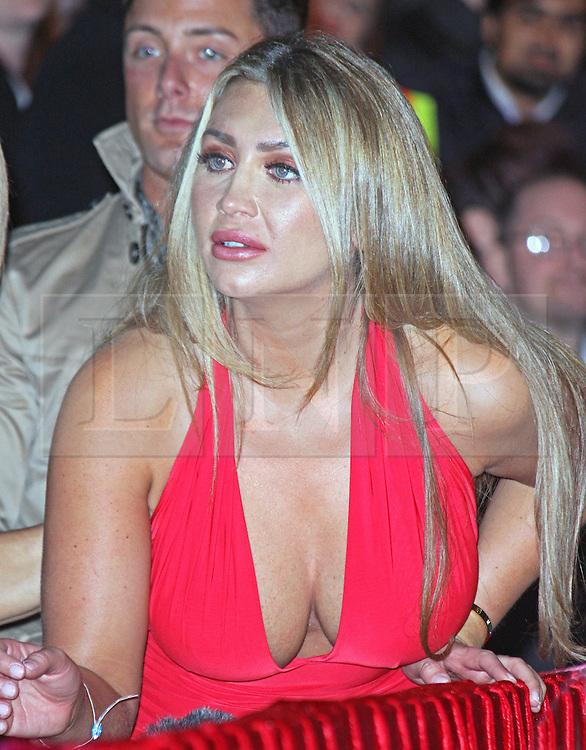 © Licensed to London News Pictures. 12/09/2014, UK. Lauren Goodger, Celebrity Big Brother Summer 2014 - Live Final, Elstree Studios, Elstree UK, 12 September 2014. Photo credit : Brett D. Cove/Piqtured/LNP