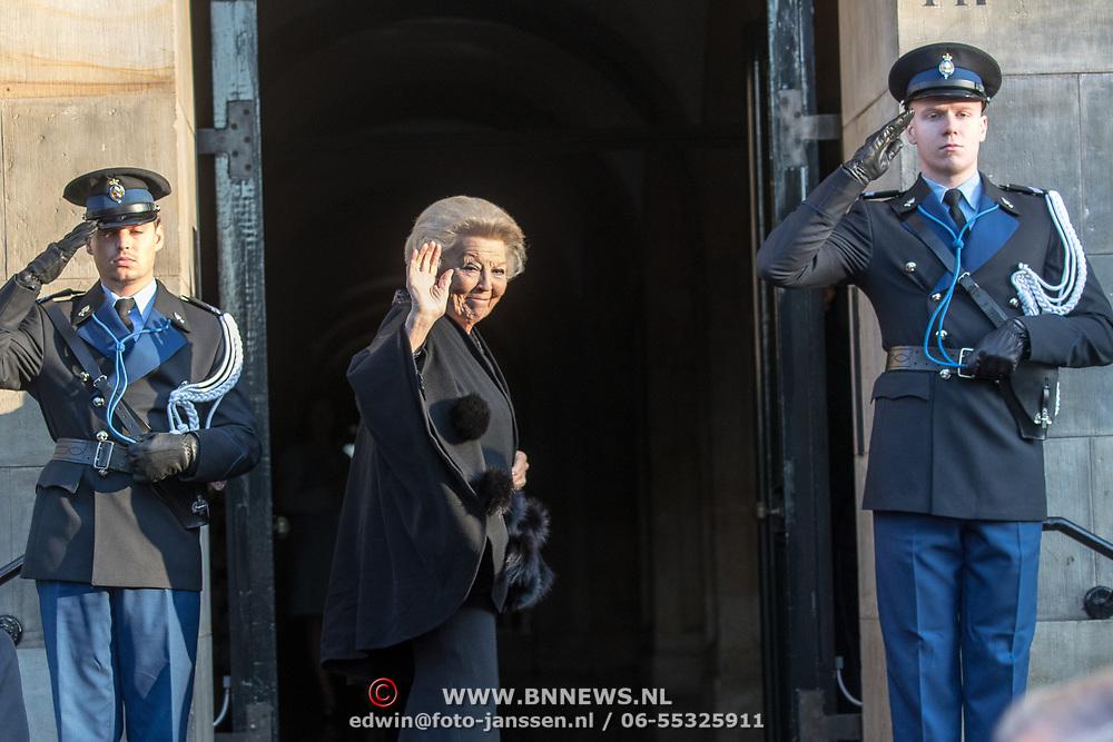 NLD/Amsterdam/20191204 - Koninklijke familie bij Prins Claus Prijs 2019, Prinses Beatrix