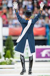 Adelinde Cornelissen, (NED) - Freestyle Grand Prix Dressage - Alltech FEI World Equestrian Games™ 2014 - Normandy, France.<br /> © Hippo Foto Team - Jon Stroud<br /> 25/06/14