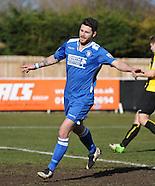 Harrogate Town F.C. v Lowestoft Town 280315