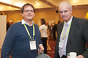 20/11/2014  repro free  Bill Buckley Bill in Ireland  and Paul Beatty Thorpe Assoc. at the Galway Bay Hotel for the two day conference Meet West attracting over 400 business people from around Ireland for the largest networking event in the Country . Photo:Andrew Downes
