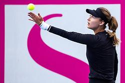 PORTOROZ, SLOVENIA - SEPTEMBER 16: Anna Kalinskaya of Russia compete during the 3rd Round of WTA 250 Zavarovalnica Sava Portoroz at SRC Marina, on September 15, 2021 in Portoroz / Portorose, Slovenia. Photo by Matic Klansek Velej / Sportida