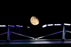The moon over Turf Moor during Burnley v Newcastle United - Mandatory by-line: Robbie Stephenson/JMP - 26/11/2018 - FOOTBALL - Turf Moor - Burnley, England - Burnley v Newcastle United - Premier League