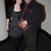 NLD/Amsterdam/20080404 - Premiere Porgy and Bess, bert Simhoffer en partner Yvette van Damme