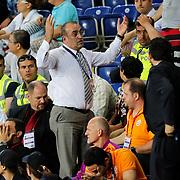 Galatasaray's Abdürrahim Albayrak during their Turkish Superleague soccer match Mersin Idman Yurdu between Galatasaray at the Mersin stadium in Mersin Turkey on Sunday 12 May 2015. Photo by Aykut AKICI/TURKPIX