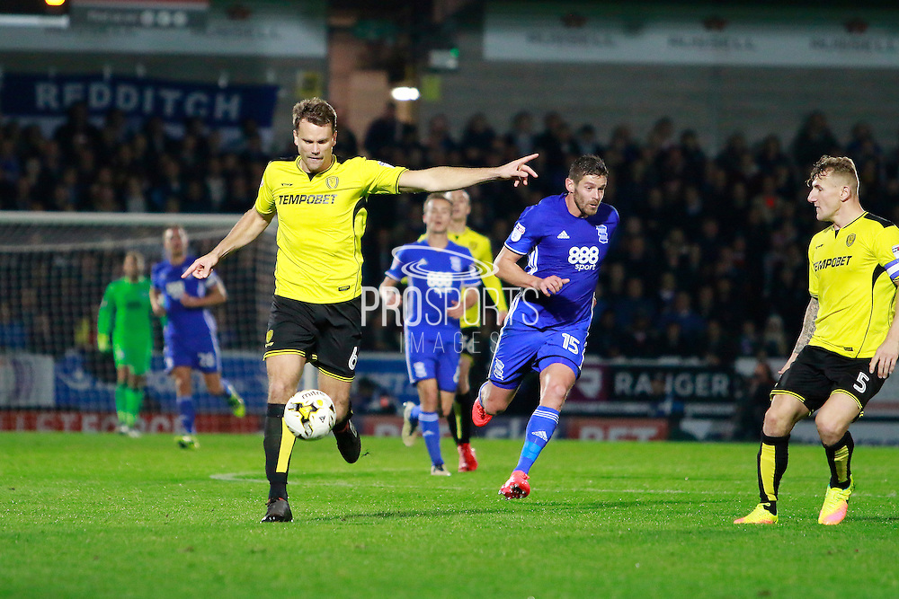 Burton's Ben Turner (6) during the EFL Sky Bet Championship match between Burton Albion and Birmingham City at the Pirelli Stadium, Burton upon Trent, England on 21 October 2016. Photo by Richard Holmes.