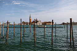 THEMENBILD - San Giorgo Maggiore bei Tag, aufgenommen am 04. Oktober 2019 in Venedig, Italien // St. Giorgos Major beautiful Tags, in Venice, Italy on 2019/10/04. EXPA Pictures © 2019, PhotoCredit: EXPA/Stefanie Oberhauser