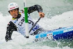 Takuya HANEDA (JPN) during Canoe Semi Finals at World Cup Tacen, 18 October 2020, Tacen, Ljubljana Slovenia. Photo by Grega Valancic / Sportida