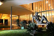 Belo Horizonte_MG, Brasil...Museu de Arte da Pampulha, o primeiro projeto do arquiteto Oscar Niemeyer...The Pampulha Art Museun, it was the first project of architect Oscar Niemeyer...Foto: LEO DRUMOND / NITRO