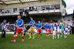 Tom Lockyer of Bristol Rovers leads out his side - Rogan Thomson/JMP - 15/10/2016 - FOOTBALL - Memorial Stadium - Bristol, England - Bristol Rovers v Gillingham - Sky Bet League One.