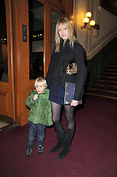 JADE PARFITT and her son JACKSON BURGESS at the opening night of Totem by Cirque du Soleil held at The Royal Albert Hall, London on 5th January 2011.