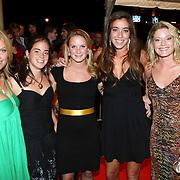 NLD/Utrecht/20070928 - Premiere film Goud over Nederlands dames hockeyelftal, vlnr, ...., ...., ...., ...., Miek van Geenhuizen