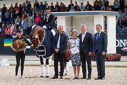 Jurado Lopez Severo Jesus, ESP, Fiontini<br /> Longines FEI/WBFSH World Breeding Dressage Championships for Young Horses - Ermelo 2017<br /> © Hippo Foto - Dirk Caremans<br /> 05/08/2017