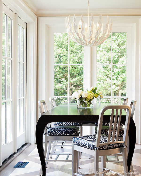 Breakfast Nook by Hannah Childs Interior Design