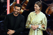 """Elyas M'Barek und Jessica Schwarz, Darsteller im Kinofilm """"Das perfekte Geheimnis"""". Verleihung 41. Bayerischer Filmpreis 2019 am 17.01.2020 im Prinzregententheater München."""