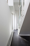 wall and staircase in office