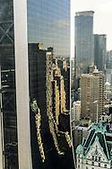 New York. reflection on solow building  New York - United states / reflet sur le Solow buildingManhattan   New York - Etats-unis