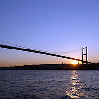 Istanbul, Turkey 06 July 2005<br /> The Bosphorus is a geological strait separating the European and the Asian parts of Istanbul.<br /> Photo: Ezequiel Scagnetti