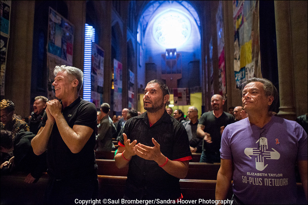 'World AIDS Day' at Grace Cathedral in San Francisco.
