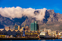 Table Bay Harbour, Cape Town, South Africa.