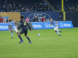 October 31, 2018 - New York, New York, United States - Anton Tinnerholm (3) of NYCFC runs with ball during knockout round game between NYCFC & Philadelphia Union at Yankees stadium NYCFC won 3 - 1  (Credit Image: © Lev Radin/Pacific Press via ZUMA Wire)