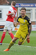 Fleetwood Town v Colchester United 250415
