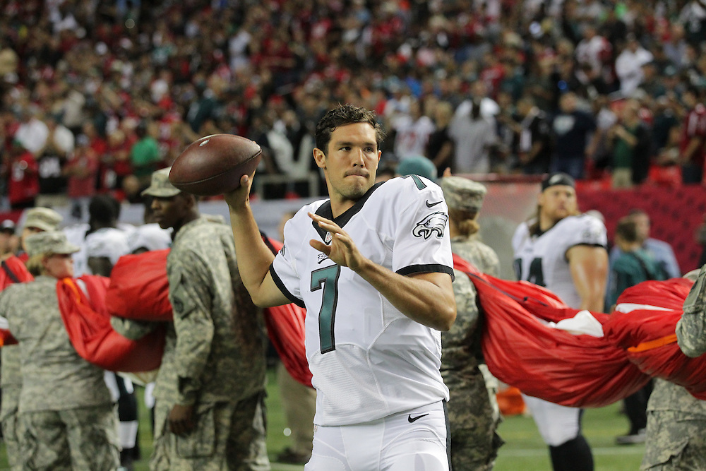 Sam Bradford; Philadelphia Eagles at Atlanta Falcons; Monday Night Football