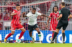01.08.2017, Allianz Arena, Muenchen, GER, Audi Cup, FC Bayern Muenchen vs FC Liverpool, im Bild Corentin Tolisso (FC Bayern Muenchen), Georginio Wijnaldum (FC Liverpool) // during the Audi Cup Match between FC Bayern Munich and FC Liverpool at the Allianz Arena, Munich, Germany on 2017/08/01. EXPA Pictures © 2017, PhotoCredit: EXPA/ JFK