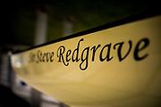 Henley. Berks, United Kingdom. <br /> <br /> Royal Regatta Boat Tent Racked Eight,  [Sir Steve REDGRAVE. 2017 Henley' Women's Regatta. Rowing on, Henley Reach. River Thames. <br /> <br /> <br /> Sunday  18/06/2017<br /> <br /> <br /> [Mandatory Credit Peter SPURRIER/Intersport Images]