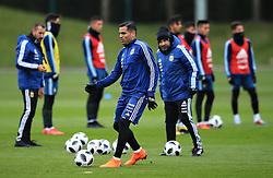 Argentina's Gabriel Mercado - Mandatory by-line: Matt McNulty/JMP - 21/03/2018 - FOOTBALL - Argentina - Training session ahead of international against Italy
