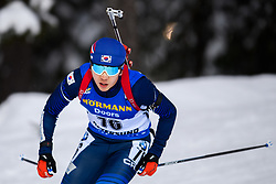 March 9, 2019 - –Stersund, Sweden - 190309 Dujin Choi Korea Republic competes in the Men's 10 KM sprint during the IBU World Championships Biathlon on March 9, 2019 in Östersund..Photo: Petter Arvidson / BILDBYRÃ…N / kod PA / 92252 (Credit Image: © Petter Arvidson/Bildbyran via ZUMA Press)