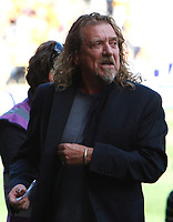 Football Barclays Premiership Robert Plant ( Led Zeppelin ) New Vice-President of Wolves <br />  Wolverhampton Wanderers v West Ham United  at  Molineux Stadium 15/08/2009 Credit: Colorsport / Kieran Galvin
