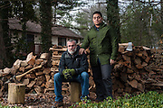 COLUMBIA, MD -- 12/20/14 -- Mark Johnson-Lewis, 48, and his son, Tyler Lewis, 22, talk about the complexity of being a biracial family..…by André Chung #_AC23210