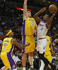 Miami Heat v LA Lakers - 01 March 2018