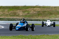 Richard Rainbow pictured competing in the 750 Motor Club's Formula Vee Championship. Image captured at Snetterton on July 18, 2020 by 750 Motor Club's photographer Jonathan Elsey