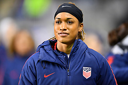 February 27, 2019 - Chester, PA, U.S. - CHESTER, PA - FEBRUARY 27: US Forward Jessica McDonald(20) enters the field before the She Believes Cup game between Japan and the United States on February 27, 2019 at Talen Energy Stadium in Chester, PA. (Photo by Kyle Ross/Icon Sportswire) (Credit Image: © Kyle Ross/Icon SMI via ZUMA Press)