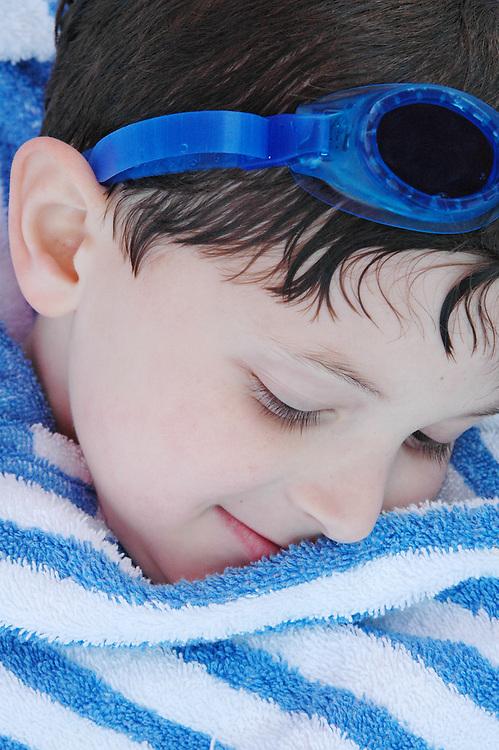 After a swim, Turks & Caicos
