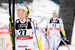 January 6, 2018 - Val Di Fiemme, ITALY - 180106 Jennie …berg of Sweden after women's 10km mass start classic technique during Tour de Ski on January 6, 2018 in Val di Fiemme..Photo: Jon Olav Nesvold / BILDBYRN / kod JE / 160122 (Credit Image: © Jon Olav Nesvold/Bildbyran via ZUMA Wire)