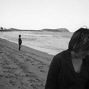 Jen (left) and Jane on Terrigal Beach, NSW, Australia, November 2007. Photo by Tim Clayton..