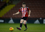 George Cantrill of Sheffield Utd during the U18 Professional Development League 2 play off semi final match at  Bramall Lane, Sheffield. Picture date: April 21st 2017. Pic credit should read: Simon Bellis/Sportimage