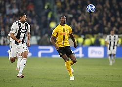 October 2, 2018 - Turin, Italy - Mohamed Camara during Champions League match between Juventus v Young Boys, in Turin, on October 2, 2018. (Credit Image: © Loris Roselli/NurPhoto/ZUMA Press)