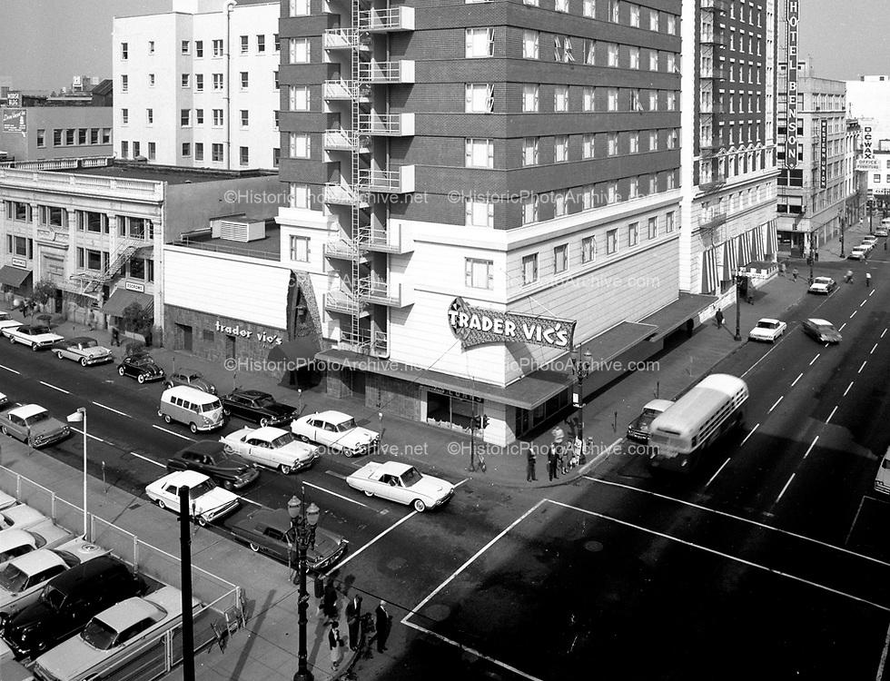 """Ackroyd C00753-4 """"Benson Hotel. October 3, 1962"""" (corner of SW Broadway & Stark)"""