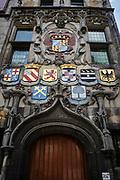 Het historische gemeenlandshuis van Delfland in Delft. | The historic building of Hoogheemraadschap van Delfland , a Dutch waterboard in Delft