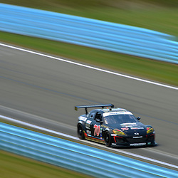 July 1, 2012 - The SpeedSource Mazda RX-8 driven by Jonathan Bomarito and Sylvain Tremblay races during The Grand-Am Rolex Sports Car Series Sahlen's Six Hours of the Glen.
