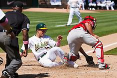 20100905 - Los Angeles Angels at Oakland Athletics (Major League Baseball)