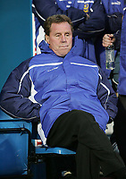 Photo: Lee Earle.<br /> Portsmouth v Manchester United. The Barclays Premiership. 11/02/2006. Portsmouth manager Harry Redknapp.